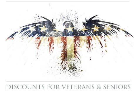 discounts for veterans and seniors