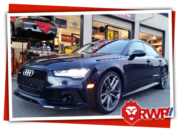 Audi Service of S4 version of A4 Quattro B8 chassis