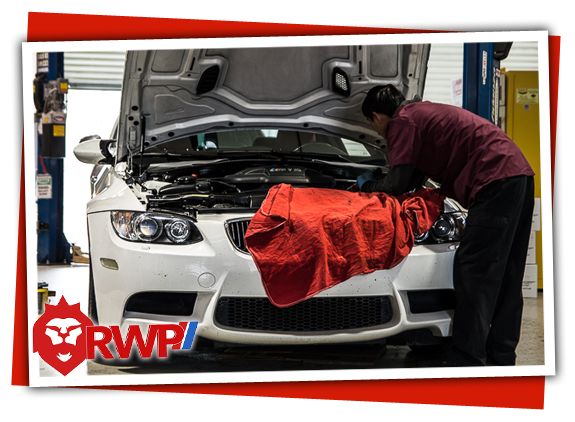BMW M3 getting Service and Repair Work Done at RennWerks