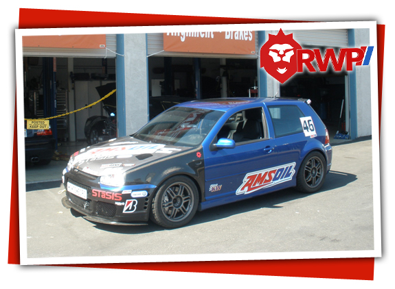 VW Mark V Golf GTI Racecar