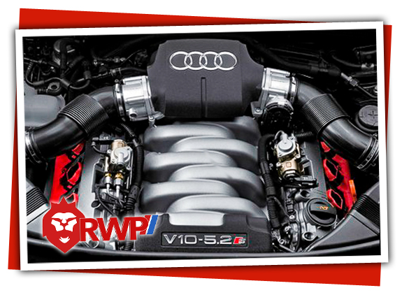Audi V10 engine in the RS6