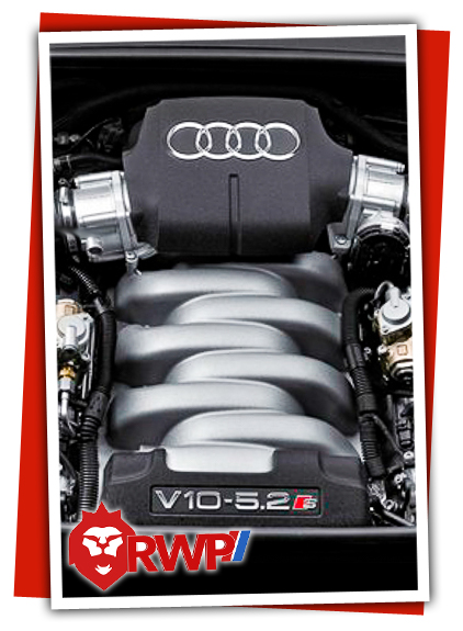 Audi R8 V10 Engine getting service