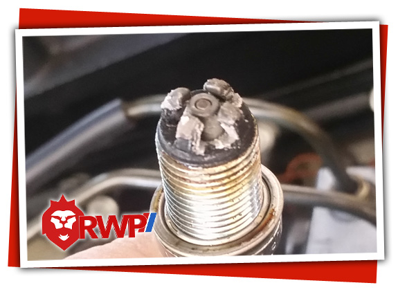 Bad Spark Plug Found During Tune-Up