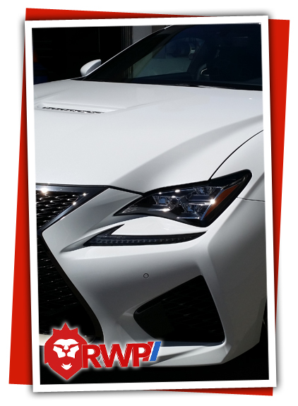 Lexus ISF Sport front angle
