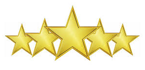 5 star rating for automotive services