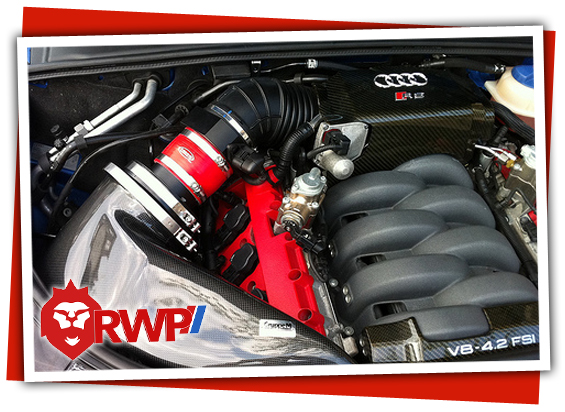 Gruppe M Intake on Audi B7 RS4