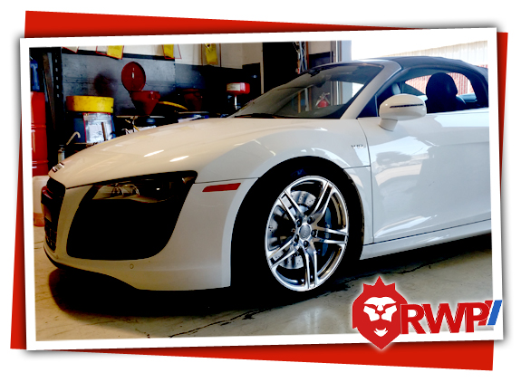 Audi R8 in for the Best Audi Repair and Service in the San Jose Area