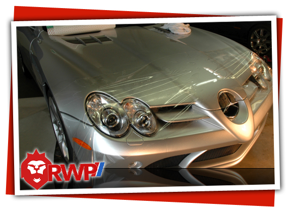 Mercedes-Benz-SLR Getting PPF