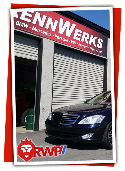 Mercedes-S550-Repair-at RennWerks