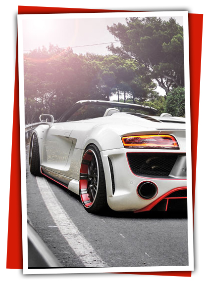 Audi R8 Service, Audi R8 styling and performance